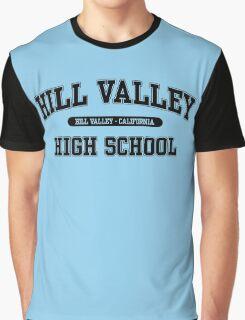 Hill Valley High School (Black) Graphic T-Shirt