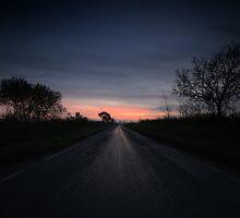 Winter Sunset by Nigel Bangert