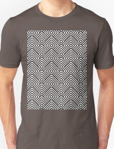 seamless patterns Black white T-Shirt