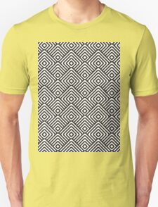 seamless patterns Black white T-Shirt