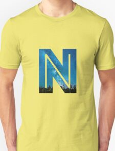 The Letter N - Starry Night T-Shirt