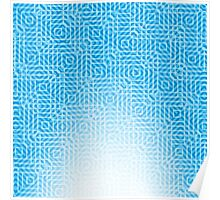 abstract light blue background Poster