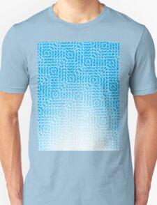 abstract light blue background Unisex T-Shirt