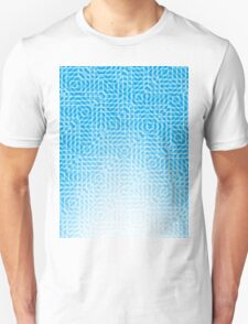 abstract light blue background T-Shirt