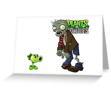Plants Vs Zombies Case  Greeting Card