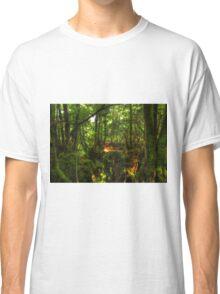 Puzzle Wood  Classic T-Shirt