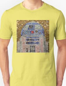 The Smartest Droid of All - Bottle Cap Mosaic T-Shirt