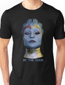 By the code Unisex T-Shirt