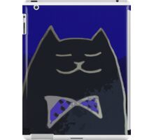 Cat in the Tux iPad Case/Skin