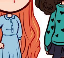 Teen Wolf Allison and Lydia Sticker