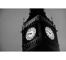 Big Ben Black and White Photographic Print