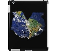 The Earth in Our Hands iPad Case/Skin