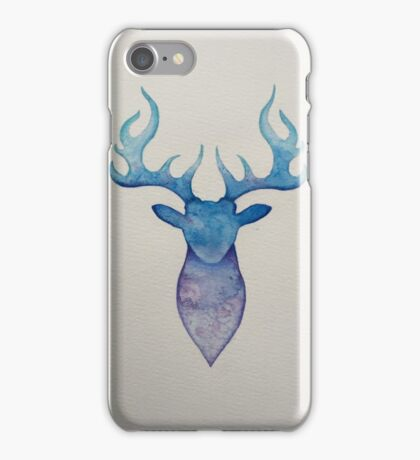 Water Colour Stag iPhone Case/Skin
