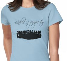 Ladies Is Pimps Too Womens Fitted T-Shirt