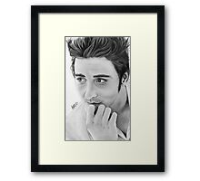 Lee Pace Framed Print
