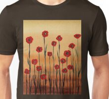 Landscape With Red Poppies Unisex T-Shirt