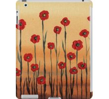 Landscape With Red Poppies iPad Case/Skin