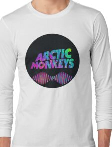 Arctic Monkeys - Logo (Psychedelic / Black)  Long Sleeve T-Shirt