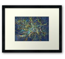 space 2 (iso) Multiverse Framed Print