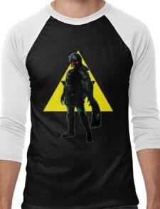 Dark Link Triforce Men's Baseball ¾ T-Shirt