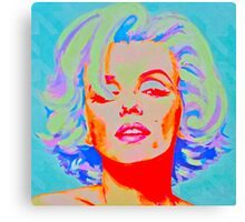 Pop Art Bombshell Canvas Print