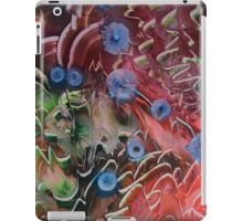 Flowers amongst the crags iPad Case/Skin
