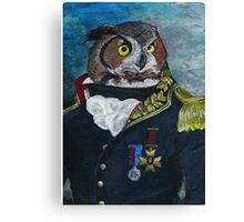 General Noctua Canvas Print