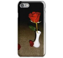 Rose in the Darkness iPhone Case/Skin
