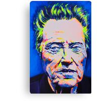 The Party Doesn't Start Till I Walken  Canvas Print