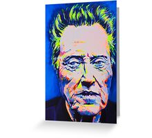 The Party Doesn't Start Till I Walken  Greeting Card