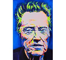The Party Doesn't Start Till I Walken  Photographic Print
