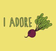 I adore beets Kids Tee