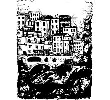 italy sketch Photographic Print