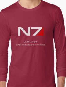 N7 - Almost Paragon Shepard Long Sleeve T-Shirt