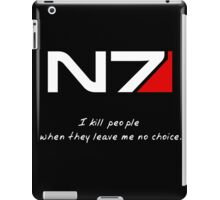 N7 - Almost Paragon Shepard iPad Case/Skin