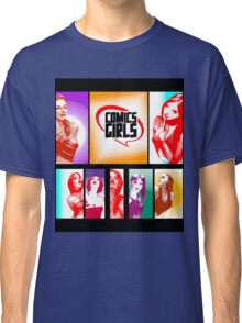 Comics Girls Classic T-Shirt