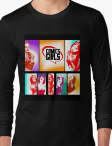 Comics Girls Long Sleeve T-Shirt