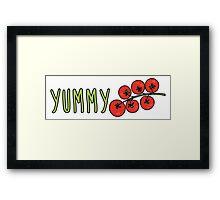 Yummy Tomatoes Framed Print