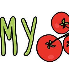 Yummy Tomatoes by ginpix