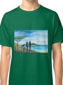 beach walk Classic T-Shirt