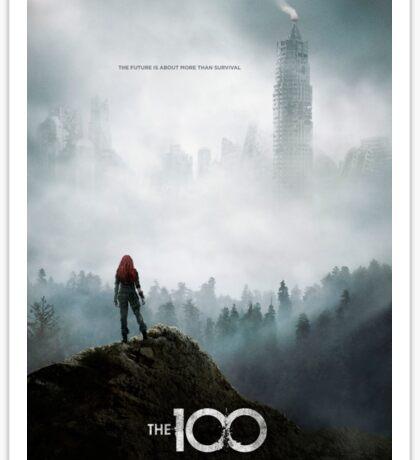 The 100 - Season 3 Poster - Clarke Griffin Sticker