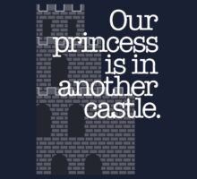 Our Princess Is In Another Castle. One Piece - Short Sleeve