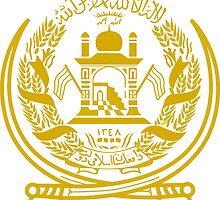 Emblem of Afghanistan, 1992-1996 by abbeyz71