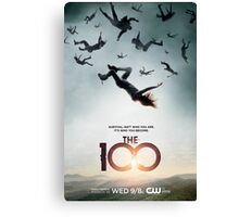 The 100 Season 1 Poster  Canvas Print