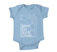Save The Clock Tower. One Piece - Short Sleeve
