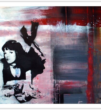Mia Wallace - Pulp Fiction Sticker