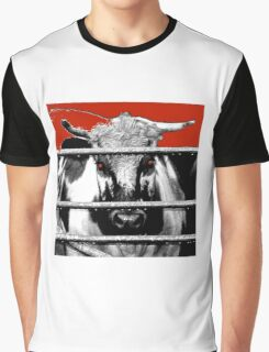 Crazy Cow Graphic T-Shirt