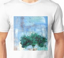 Apple Tree In Rain Unisex T-Shirt