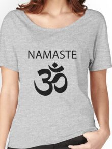 The French Mistake Meta!Misha Namaste  Women's Relaxed Fit T-Shirt
