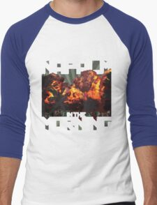 I Love The Smell of Napalm in the Morning Men's Baseball ¾ T-Shirt